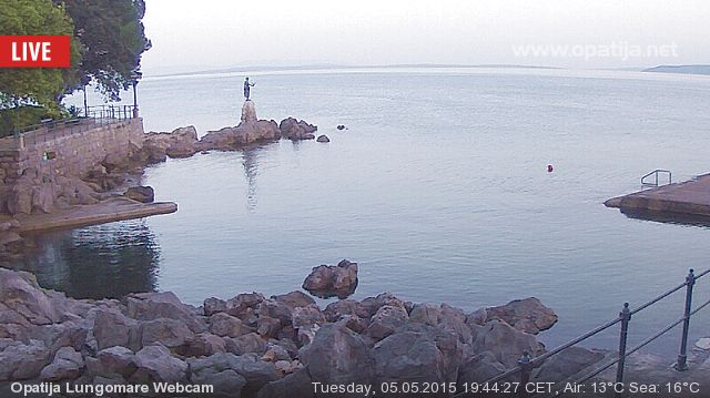 Opatija Live Webcam Slideshow
