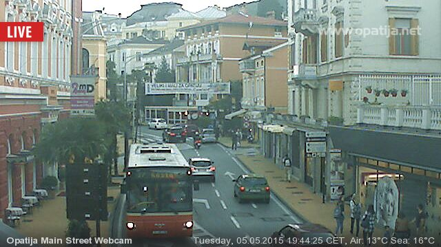 Opatija Live Webcam 2